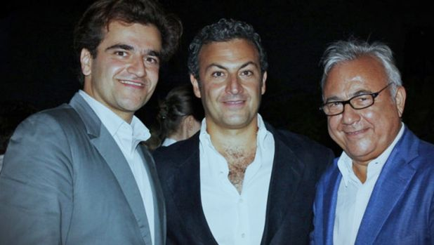 Unaoil's owners, the Ahsani family: Saman, Cyrus and Ata. The company denies paying bribes.