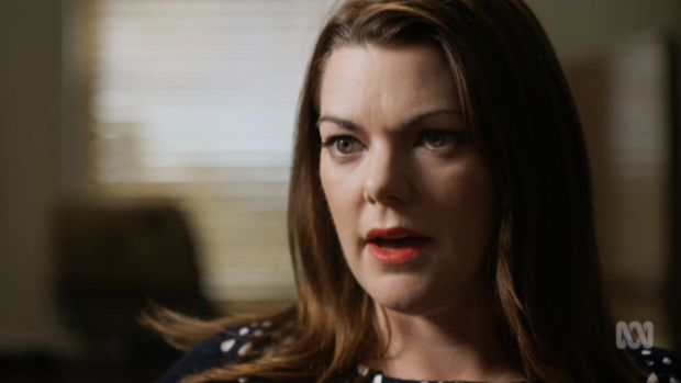 """Senator Sarah Hanson-Young: """"It seems ridiculous to me that a company that can take hundreds of millions of Australian ..."""