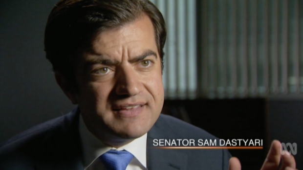 """Senator Sam Dastyari: """"The business model is built around 'We will allow you to engage in practices for a small fee that ..."""