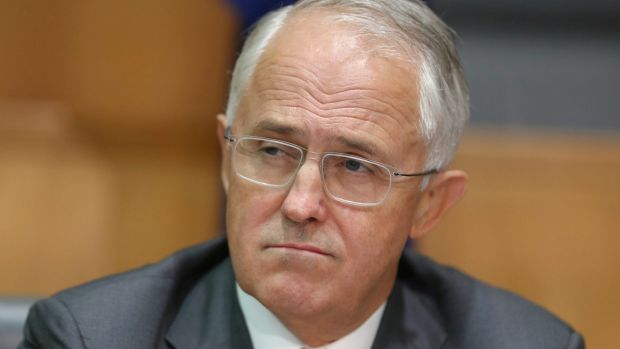 Mr Turnbull's personal ratings were down four points and Bill Shorten's improved six points.