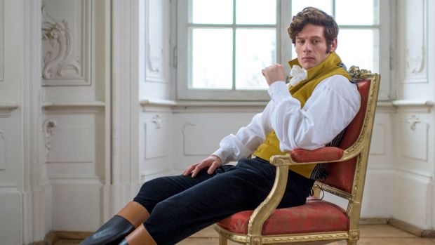 Bond bound? James Norton in his <i>War and Peace</i> role.