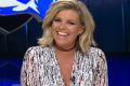 Rebecca Maddern was a hit with Footy Show viewers in her first appearance on the program.
