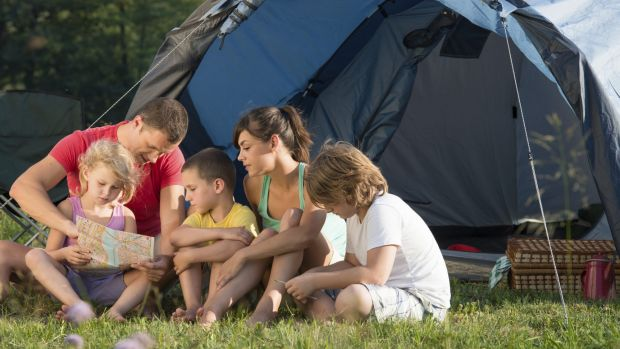 Some parents are looking to the outdoors as a way to engage their children in activities that don't involve technology.
