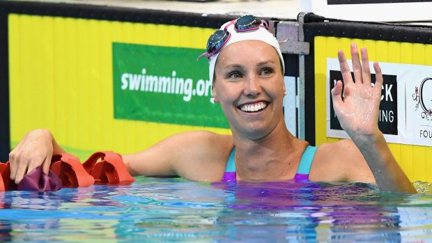 In frame for Rio: Emma McKeon.