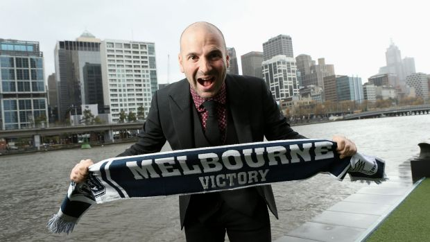 Calombaris deicded to stand down as Melbourne Victory's number one ticket-holder and said he would not attend A-League ...