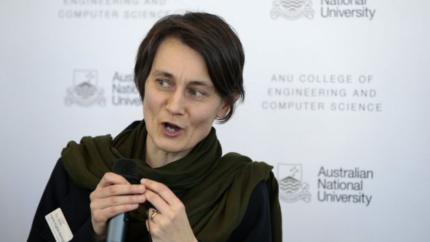 ANU deputy vice chancellor Marnie Hughes-Warrington has complained to the ACCC about anti-competitive entrance centres.