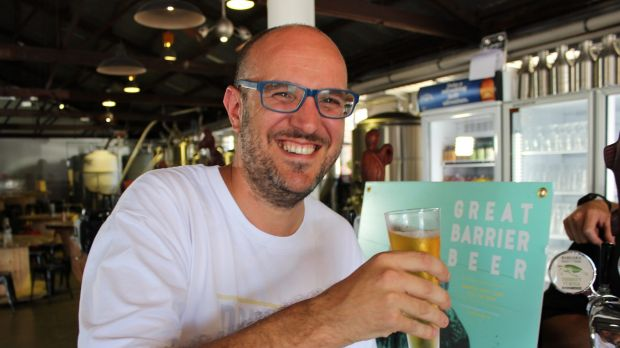 James Grugeon crowdfunded The Good Beer Co's first brew.