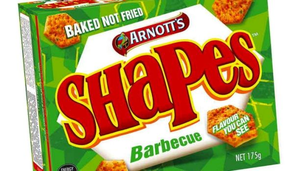 Arnott's Barbecue Shapes ... will they ever be the same again?
