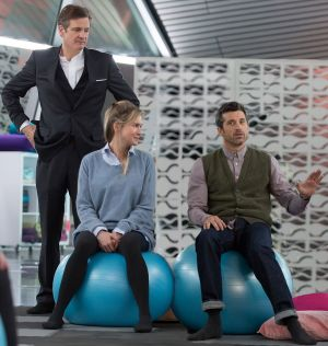This time around, Bridget Jones has two love interests. Colin Firth, Renee Zellweger and Patrick Dempsey in the new ...