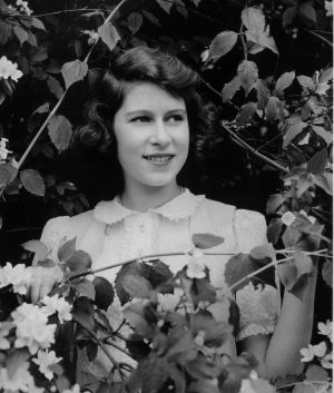 The Queen as Princess Elizabeth at age 13 in 1939.