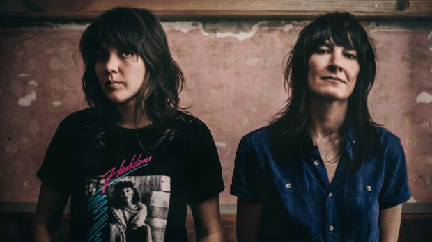 Courtney Barnett and Jen Cloher.