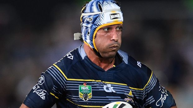 On form again: Johnathan Thurston of the Cowboys.