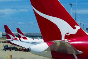 A faulty pressure gauge at a Qantas hangar in Brisbane has been blamed for the spill.