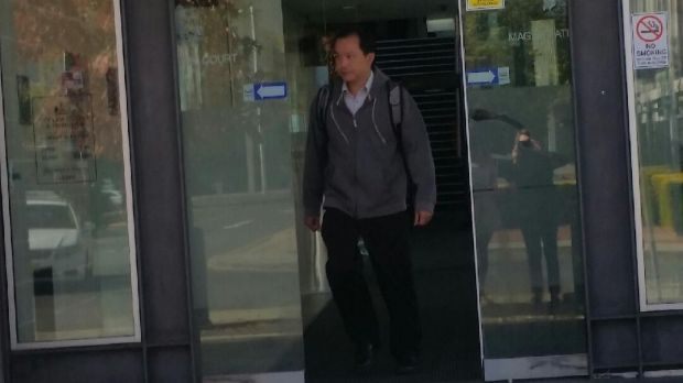 Juswan Mokmargana, 45, leaves the ACT Magistrates Court in May.