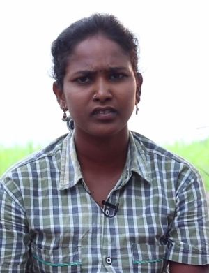 Jessica, a fabric mill worker in Tamil Nadu in India, began working at the age of 12.