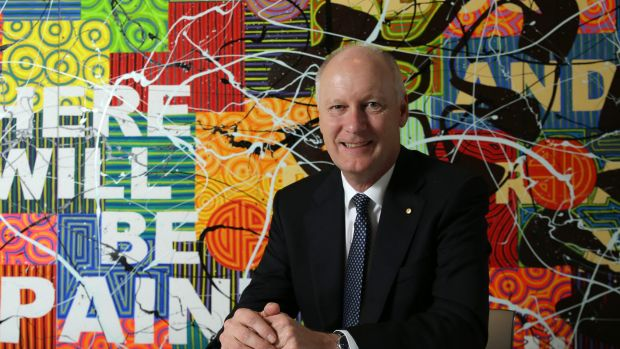 Driving merger: Wesfarmers managing director Richard Goyder is confident the Karget concept can be successful.