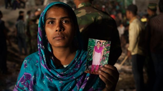 The Rana Plaza collapse killed hundreds of garment workers in Bangladesh in 2013.