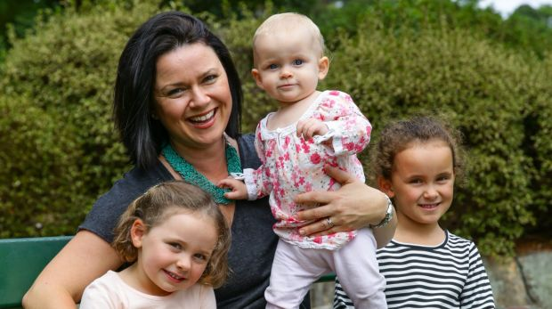 Rachel Chappell - with her children Zara, 4, Ella, 11 months, and Scarlett, 6 - started a group to help her make ...