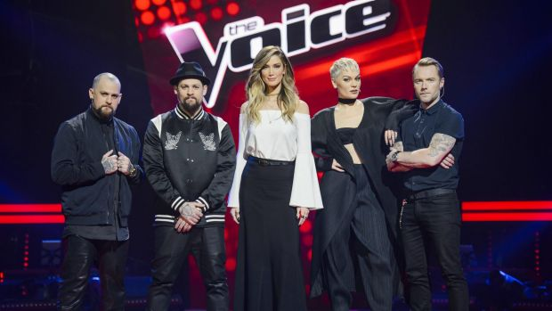 <i>The Voice</i> coaches add some passion to the program as they compete for talent to build their teams.