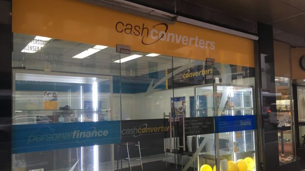 Cash Converters has been accused of charging an effective interest rate of 420 per cent.