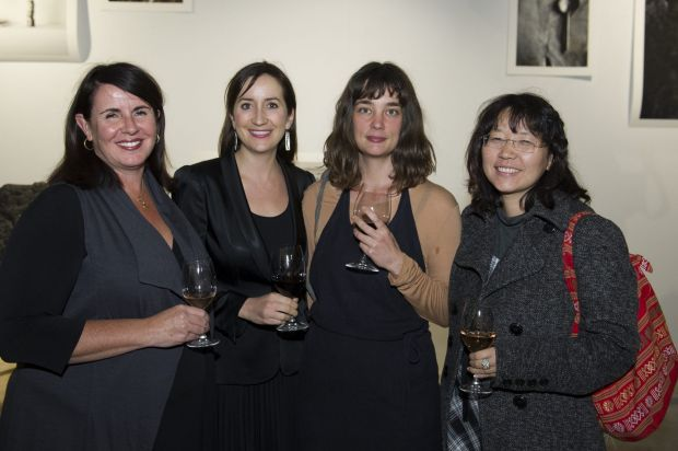 From left, Tracey-Anne Leahey of Canberra, Nicole Short of Canberra,  Steph Donse of Melbourne and Julie Ahn of New Acton.