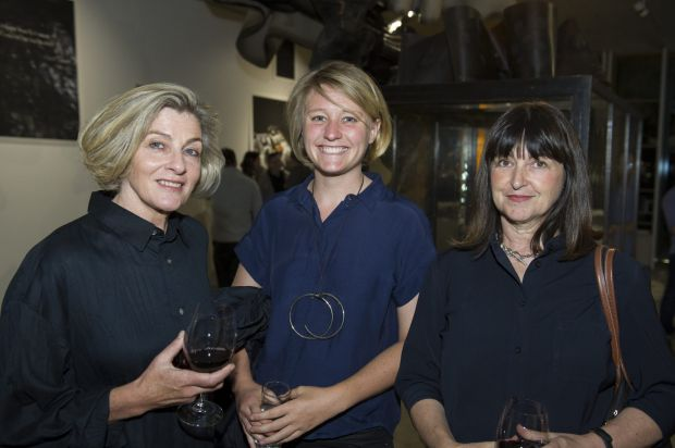 From left, Alison Coates of Sydney, Anna Normyle of Civic, and Helen Redmond of Sydney.