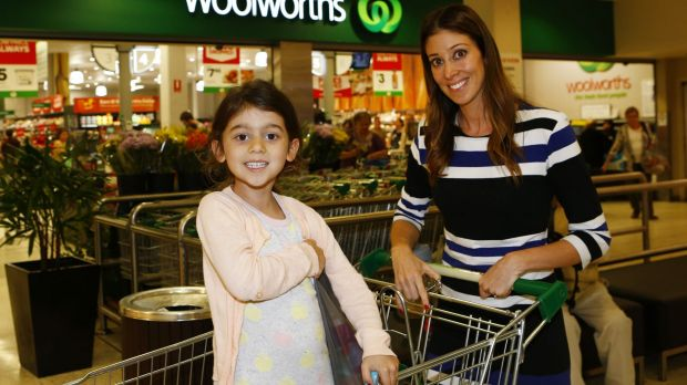 Danielle Soutar, with her daughter Noa, is trying to reduce her family's sugar intake.