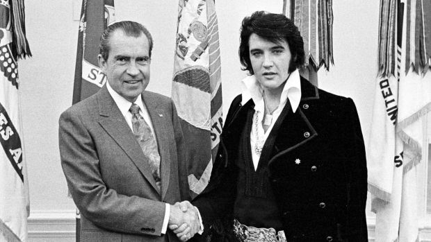 President Richard Nixon met Elvis Presley on December 21, 1970.