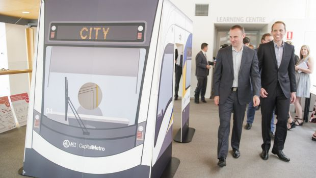 The ACT government will no longer use the Magistrates Court car park for the light rail project, Minister for Capital ...