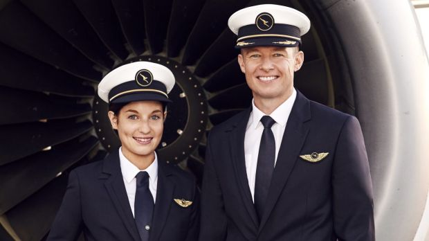 The new uniforms will be required wearing for Qantas pilots from Thursday.