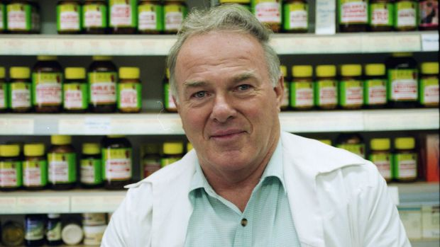 Banned from practising: Medical herbalist Ian Pile.