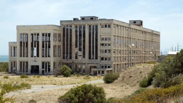 Man dies after falling from second floor of the old South Fremantle Power Station.