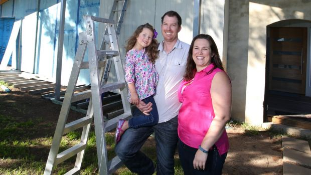 The Wynne family in Engadine know the cost of raising a family can make it more difficult to save in your 30s and 40s.