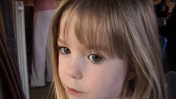 Tthree-year-old Madeleine McCann went missing in 2007.