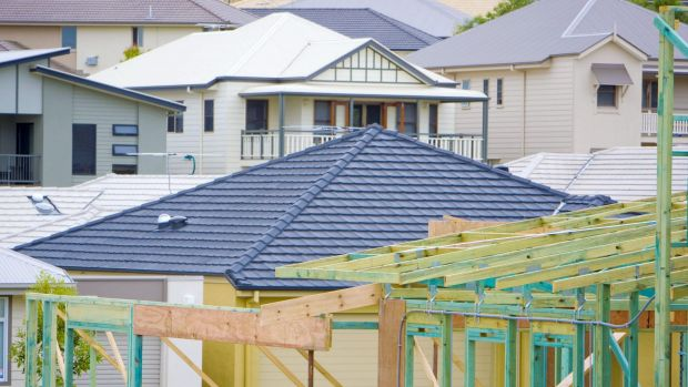 The US has overtaken Australia in building the biggest new homes.