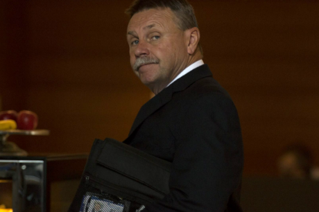 Sacked: Parramatta chairman Steve Sharp.