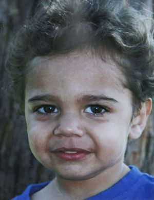 Dean Shillingsworth, 2, whose body was found at a lake in Ambervale.