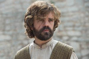 Game of Thrones star Peter Dinklage as Tyrion Lannister.