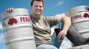 Brendan Varis of Feral Brewing, which dominated the Perth Royal Beer Awards.