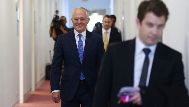 """""""It's easy to be very cynical as, frankly, you are being"""": Prime Minister Malcolm Turnbull criticised ABC radio host Jon ..."""