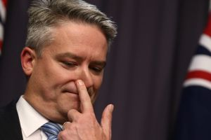Cormann speaks four languages, but his English is not entirely perfect at times.