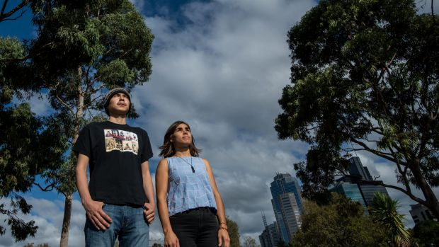 """""""We need to transition ... to systems that can be powered by the sun and the rain:"""" Indigenous Australian Amelia Telford."""