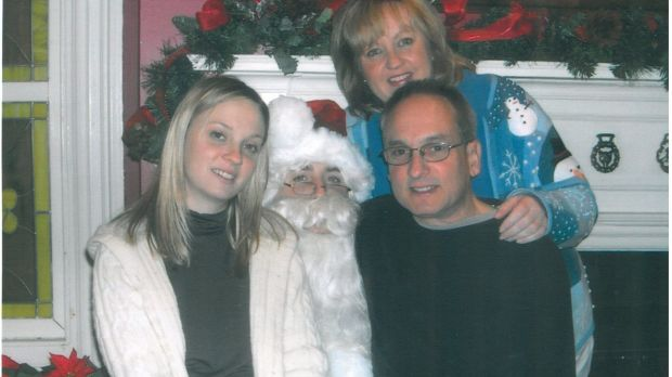 The Kroll Family in happier times.
