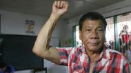 Rodrigo Duterte has a tough line on law and order, which has inspired other politicians in the Philippines.