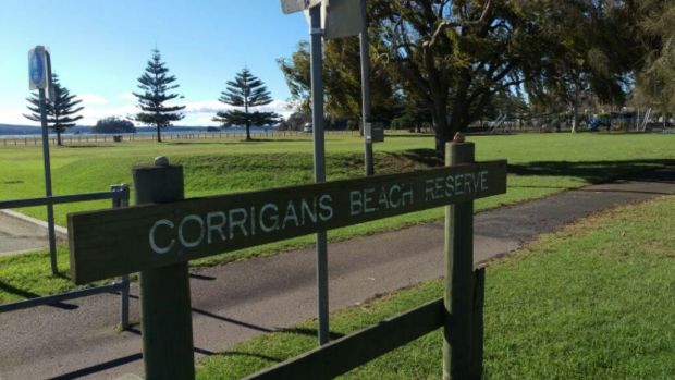 A mother allegedly struck her son with her car at Corrigans Beach Reserve, in Batehaven.