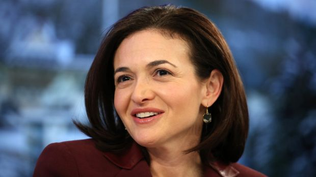 Sheryl Sandberg, billionaire and chief operating officer of Facebook, advises women to think personally and act communally.