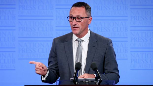 """""""I take a long view about our chances in the lower house"""": Greens leader Richard Di Natale."""