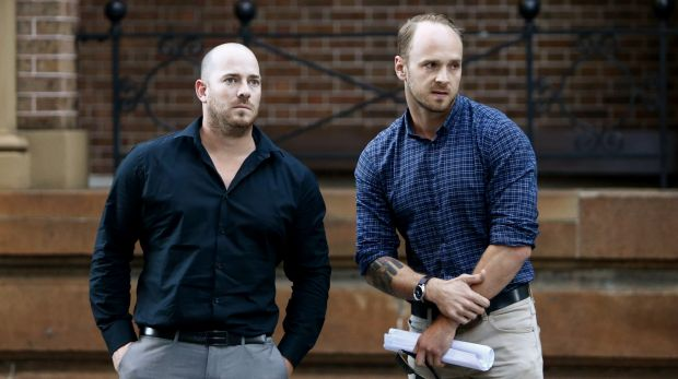 Todd Fisher and Corey Cameron escaped from the explosion and fire that rocked their Rozelle home. Their flatmate Chris ...