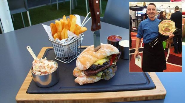 Perth's best steak sandwich went to The Harbour Master in Fremantle made by chef Andy Amis.