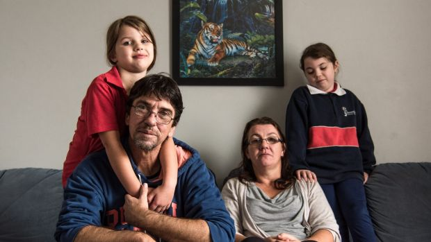 Duncan Storrar wit his family Jakalah-Rose, Indica and wife Cindy-Lee. Duncan appeared on Q&A with a question about tax ...